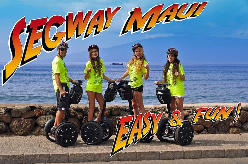 Segway Tour auf Maui, Hawaii